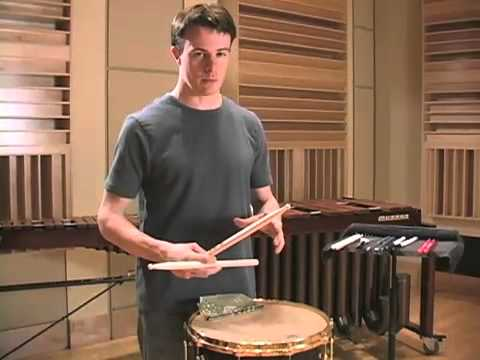 Concert Snare 9: Metered & Unmetered Rolls / Vic Firth Percussion 101