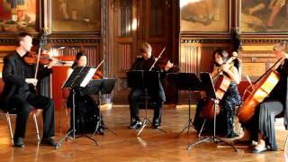 Jade Quartett mit Claudia Schwarze: Schubert Streichquintett C-Dur, 2. Satz