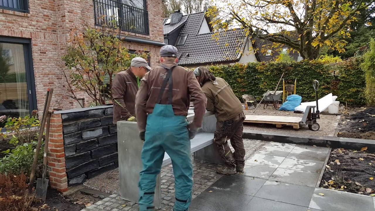 Gartenplanung: Die Außenküche kommt... - YouTube