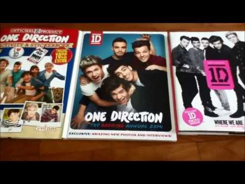 One Direction Books - Where We Are & Official Annual 2014