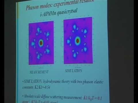 Prof. Marc De Boissieu - Phason Modes in Quasicrystals