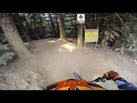 Whistler Bike Park B-Line to Funshine to Smoke to Blueseum to Devils to GLC Drop