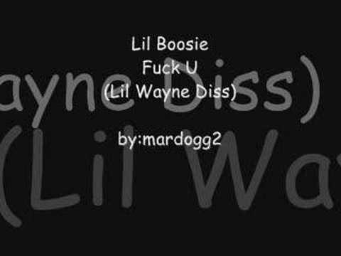 Lil Boosie- Fuck U (Lil Wayne Diss)