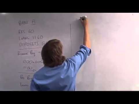 32 - Fractional reserve banking example