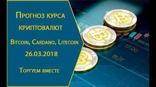 Прогноз курса криптовалют Bitcoin, Cardano, Litecoin. Что будет дальше?
