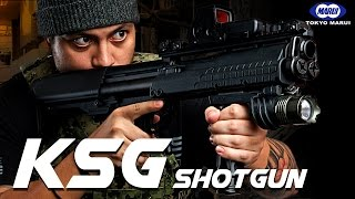 Has Marui Cracked The Shotgun with the new KSG? - RedWolf Airsoft RWTV