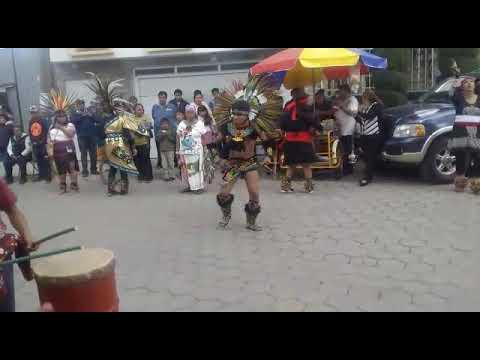 Danza Azteca honor Santa Inés en Tlaxcala 2020. 3/3