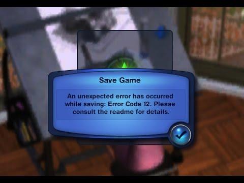 Sims 3 Error Code 12 Fix