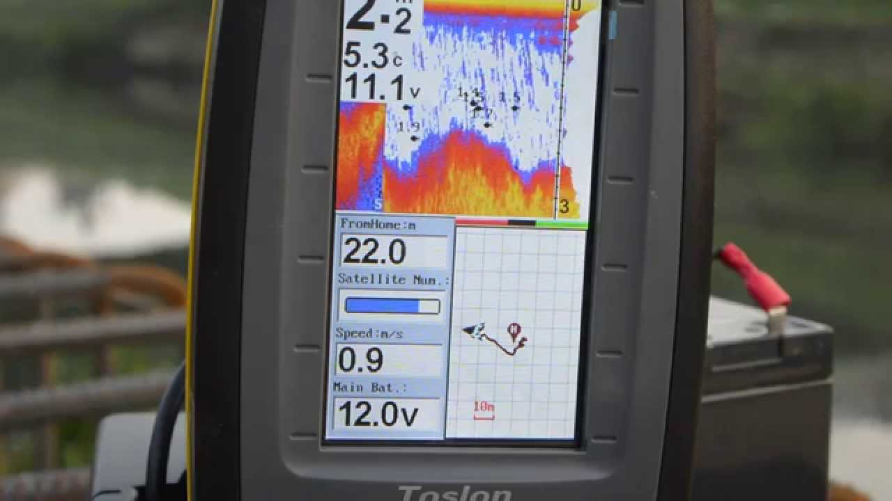 bait boat wireless fish finder+gps - youtube, Fish Finder