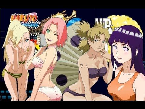 Girls Naruto Bikini