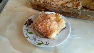 Сахарный пирог. Безумно вкусно и быстро! Пирог к чаю