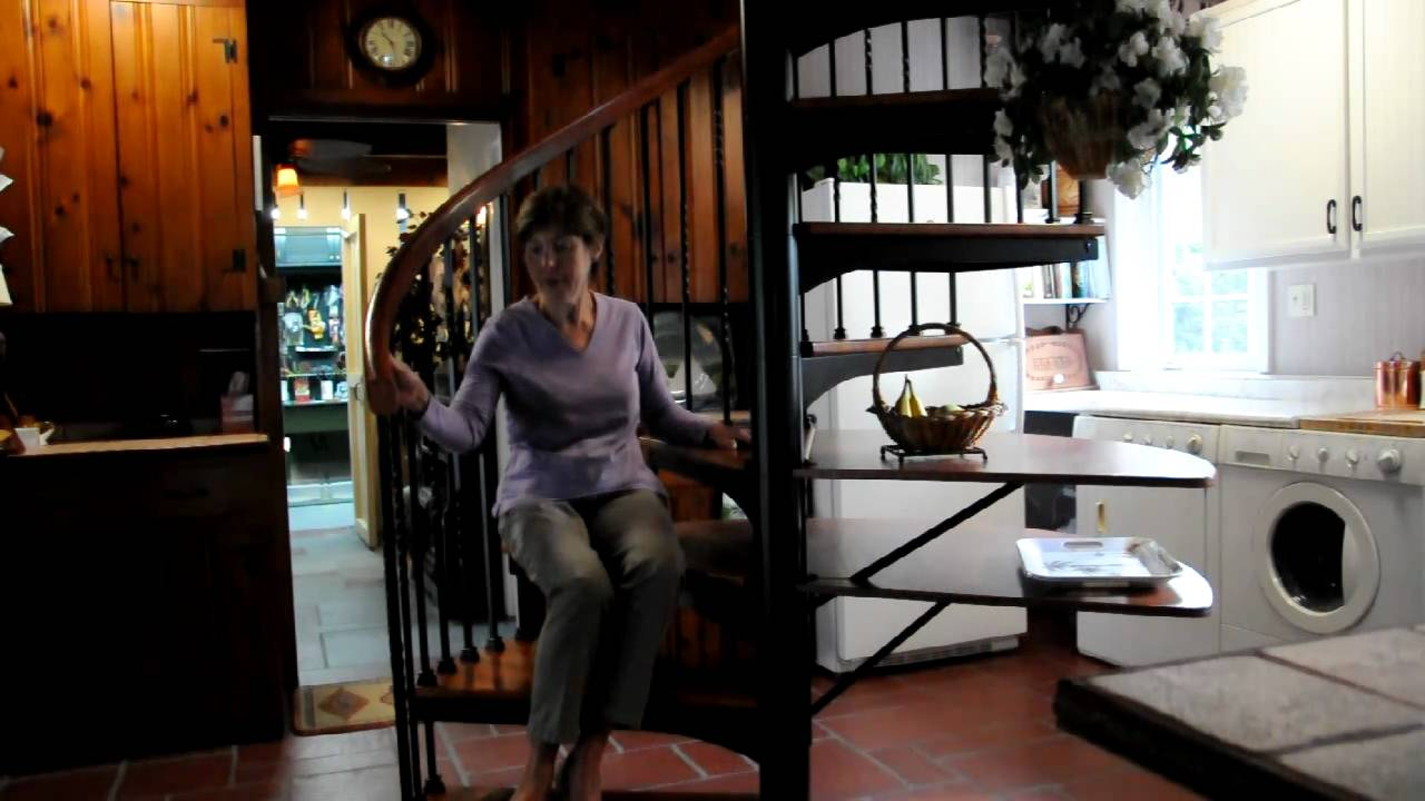 Salter Spiral Customer Testimonial!  Forged Iron Spiral Stair!