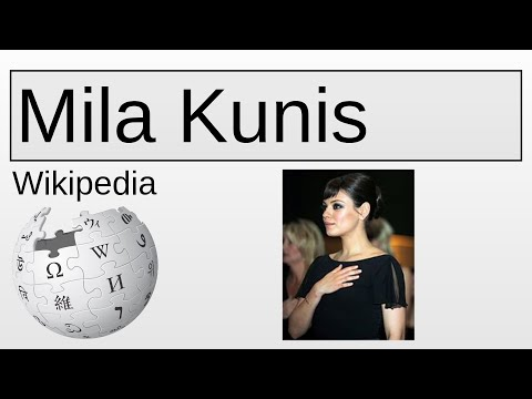 Mila Kunis | Wikipedia