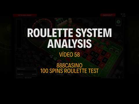 CURIOSITIES - Testing The 888CASINO Roulette - Roulette System Analysis