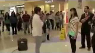 Indian Boy Proposing to girl in Dubai Mall