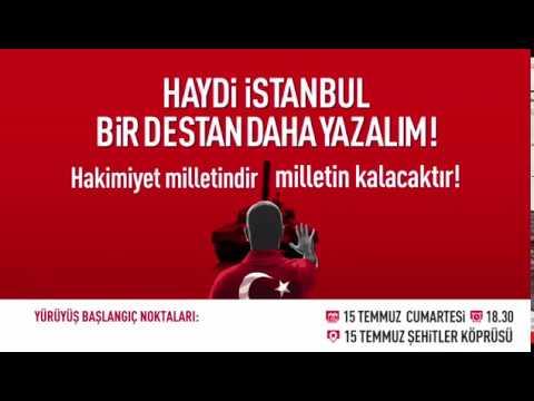 'Haydi İstanbul bir destan daha yazalım!'