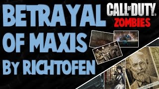 The Betrayal of Dr.Maxis by Richtofen : FULL STORY - Call of Duty Zombies Storyline (WAW, BO1, BO2)