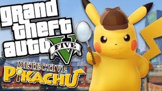 POKEMON DETECTIVE PIKACHU MOD (GTA 5 PC Mods Gameplay)