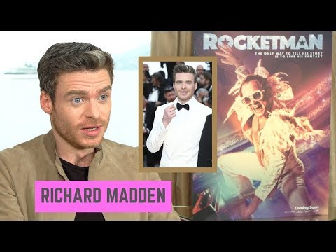 Richard Madden Thinks Red Carpets Are Terrifying ... (Cannes 2019, TV2)