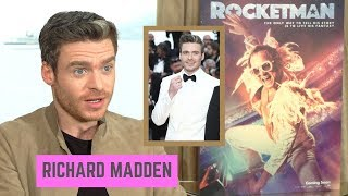 Richard Madden Was Terrified at the Red Carpet in Cannes 'ROCKETMAN'