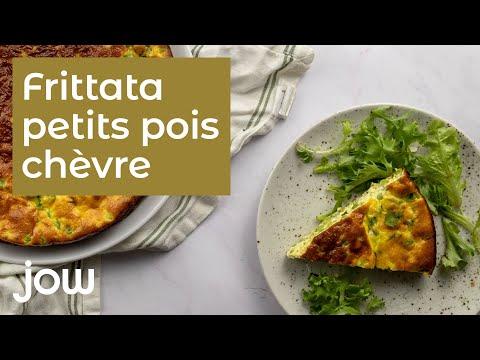 frittata-petits-pois-chèvre