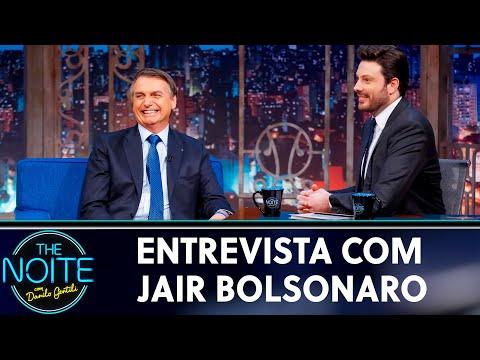 Entrevista com Jair Bolsonaro   The Noite 300519