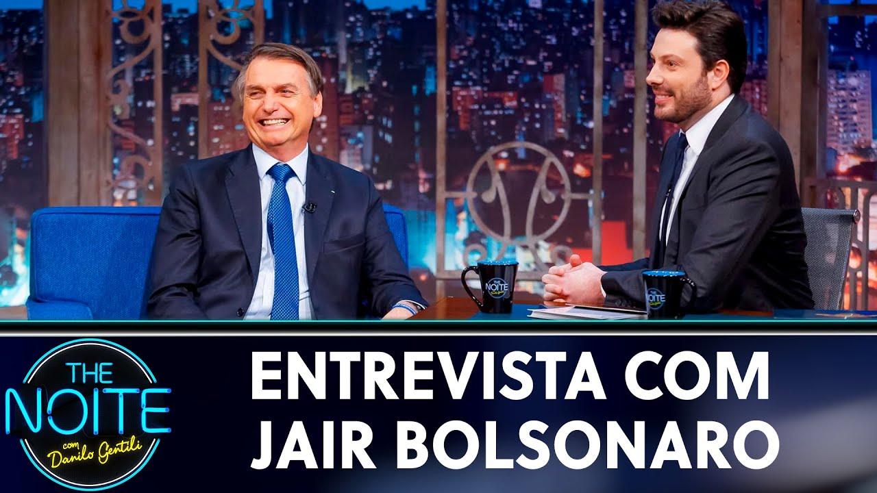 Entrevista com Jair Bolsonaro    The Noite (30/05/19)