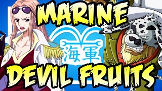 ALL Marine Devil Fruit Users! - One Piece Discussion | Tekking101