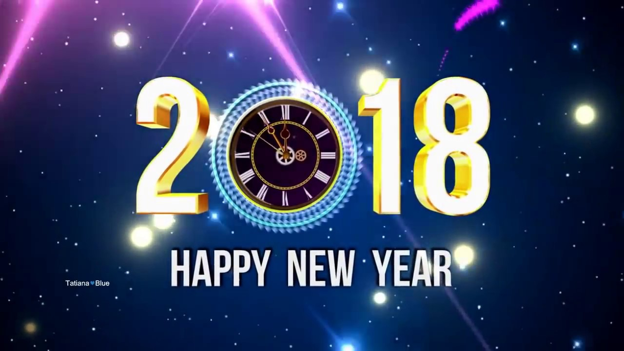 Happy New Year 2018! ♡ - YouTube