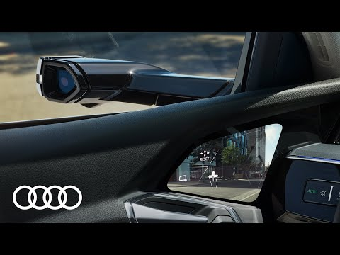 Audi e-tron – Virtuelle Außenspiegel