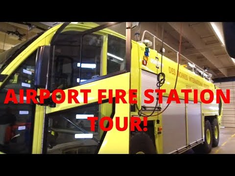 Airport Fire Station Tour