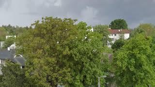 Crni oblaci se nadvili nad gradom
