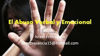Abuso Verbal y Emocional
