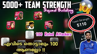 5110 Strength | Squad Building With Highest Team Strength Of PES 2021| My Team Highest Team Strength