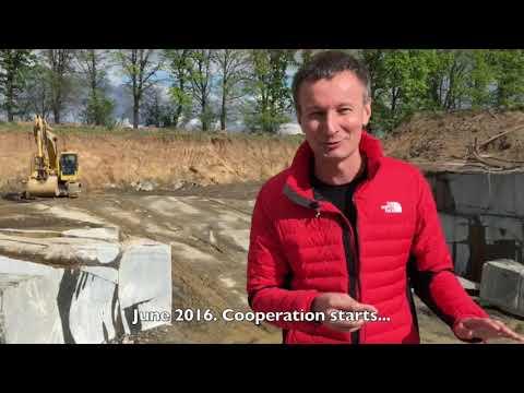 Volga Blue labradorite quarry in Ukraine. Delivery from China/Ukraine.