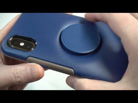 Otterbox Otter + Pop Symmetry Series for iPhone X/Xs  Go To Blue Review