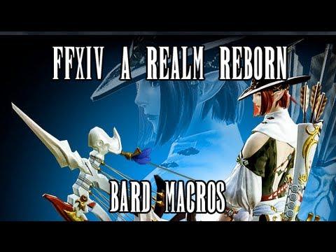 FFXIV ARR: Bard Macros (No More NDA)