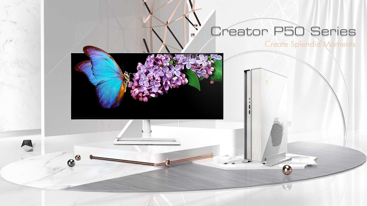 Creator P50 - AI-powered Mini Workstation | Creator Desktop | MSI