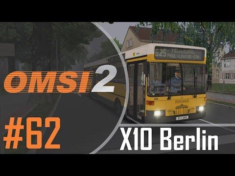 OMSI 2 | #062 | Berlin X10 Addon | Mistwetter | 625 → Postviertel | Stadtbus O405