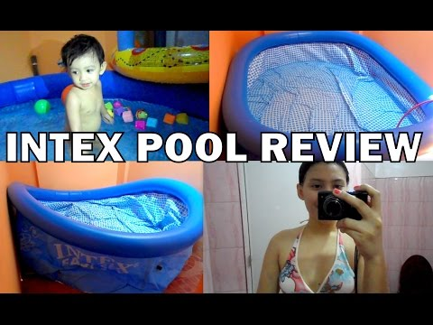 LAZADA INTEX POOL (Unboxing And Review)