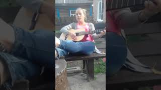 Белые обои под гитару. ТИНА поёт