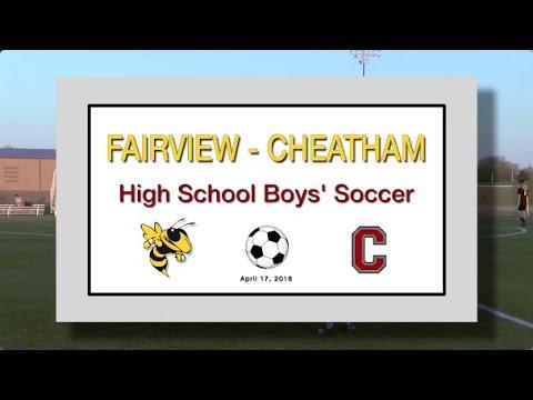 2018 4 17 SPORT FVHS Soccer Boys vs Cheatham