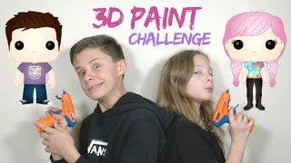 3D Paint Challenge : On fait nos POP!