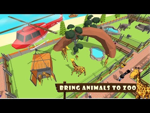 Zoo Craft : Blocky World Construction & Builder Android Gameplay HD