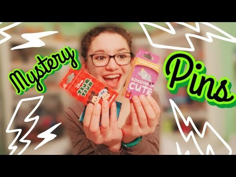Disney Parks Kingdom of Cute Mystery Pin Unboxing & MORE!!