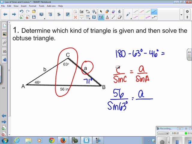 Law of Sines without Ambiguous Case