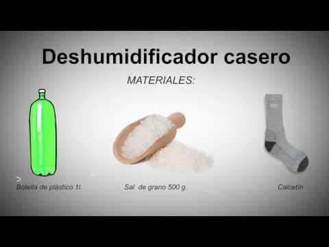 Elimina la humedad de tu casa - Deshumificador casero - YouTube