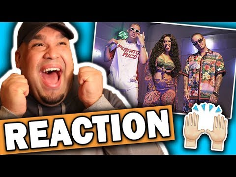 Cardi B ft. Bad Bunny & J Balvin - I Like It (Music Video) REACTION