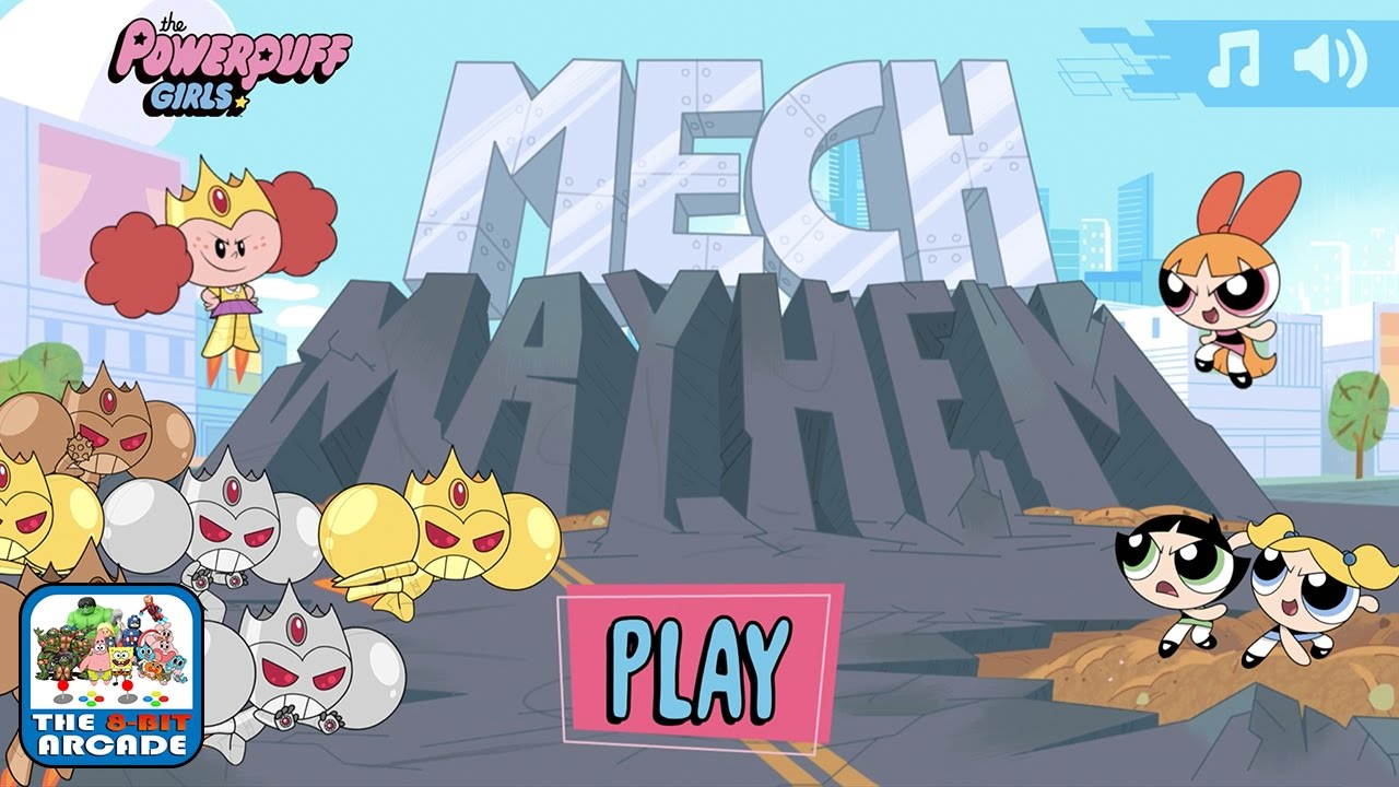 The Powerpuff Girls: Mech Mayhem