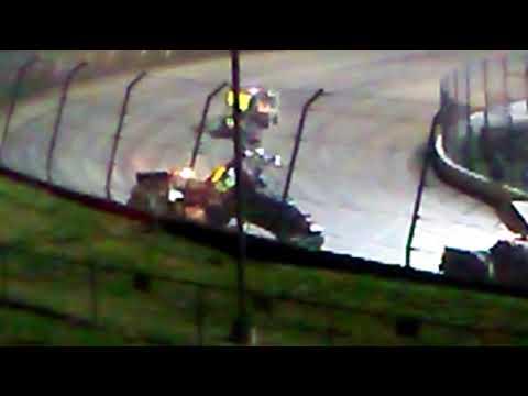 Eldora speedway all star sprint car crash wreckage
